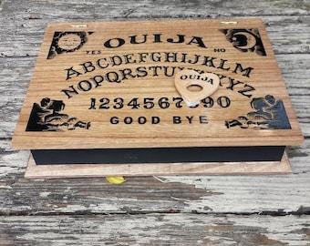 Ouija Board Wood stash box