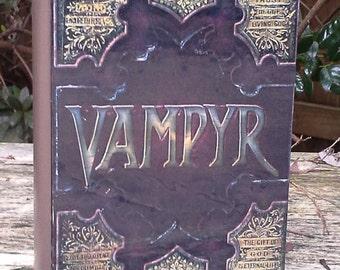 "Buffy ""Vampyr""  book- Wood stash box"