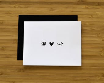I Love You Greeting Card, Everyday Card, Just Because Card, Blank Card