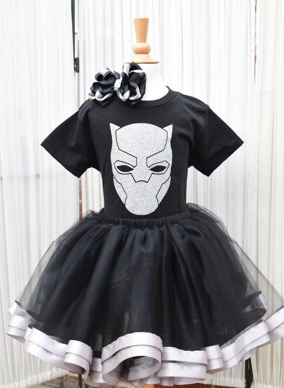 Black Panther Tutu - Black Panther Costume