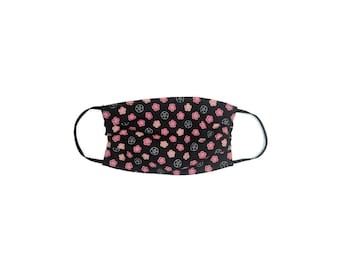 Reusable cotton Washable Face mask with pocket for filter ready to ship