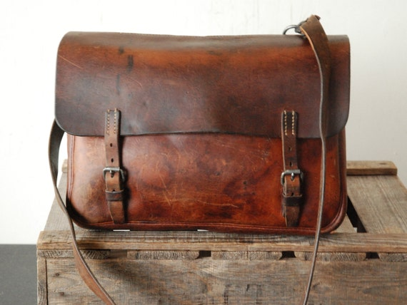 Vintage Swiss Army Messenger Bag of the 40s - Man