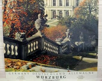 Vestido con estampado de exposición Berlín Alemania Pared Arte Impresión Enmarcado 12x16