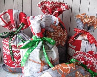 Christmas bags etsy