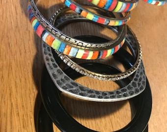 Lot of over 20 Bangle Bracelets