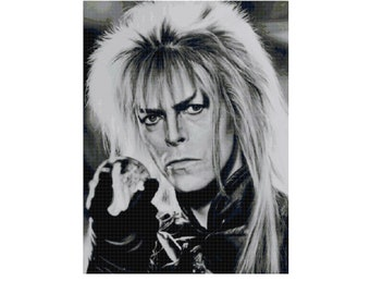 The Goblin King Full Cover Cross Stitch Pattern-25 count
