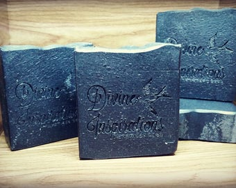 Activated Charcoal, Bentonite Clay and Tea Tree Essential Oil Face Soap