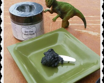 Dry Clay Mud Mask / French Green Clay / Bentonite Clay / Activated Charcoal