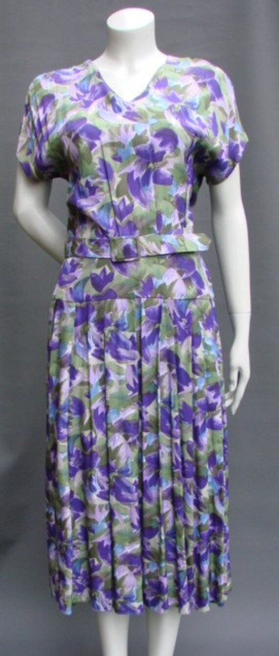 Vintage 1970s/70s Floral DRESS Radley