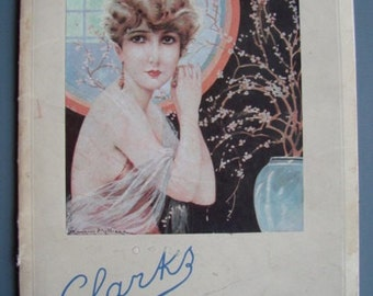 Vintage French 1920s/20s 1930s/30s Art Deco HEALTH & BEAUTY BOOKLET Boudoir Clarks