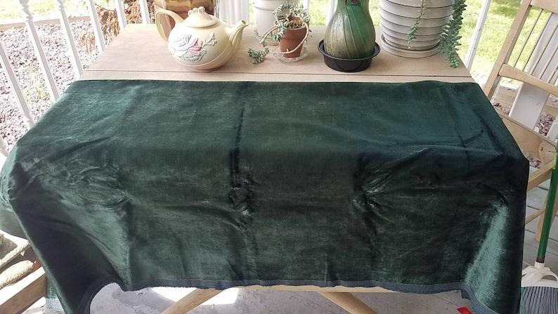 Green velvet fabric yard upholstery fabric sewing fabric dark green velvet craft supplies wholesale fabric