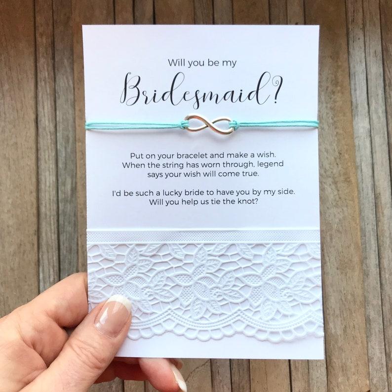 82db9c356d7d Will you be my Bridesmaid gifts Bridesmaid proposal Wedding | Etsy
