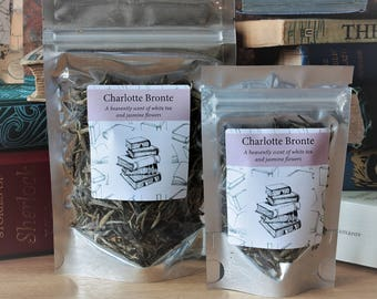 Charlotte Bronte Inspired Tea  - Tea Gift - Literary Gift - Bookish Gift - Author Gift-  Loose Leaf Tea - Jane Eyre - Tea
