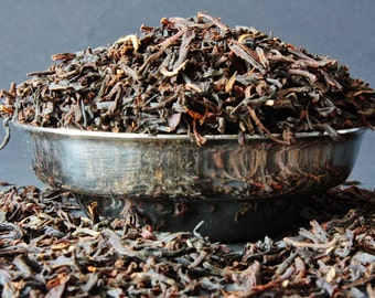 English Breakfast Loose Leaf Tea  - Black Tea - Loose Leaf Tea - Tea - Tea Gift - Pyramid Teabags