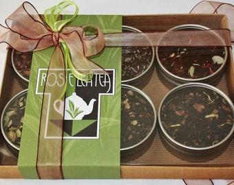 Flavoursome Black Teas Gift Selection - Tea Gift - Black Tea - Loose Leaf Tea Sets - Tea