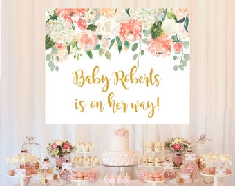 Baby Shower Backdrop Etsy