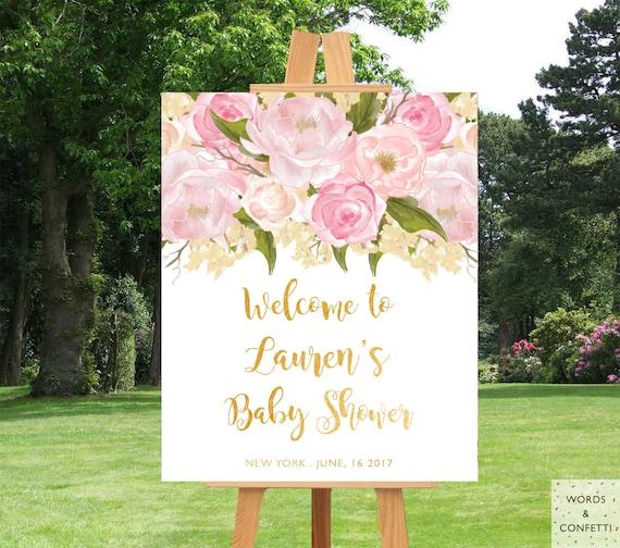 Baby Shower Decorations Girl Baby Shower Decor Baby Shower Etsy