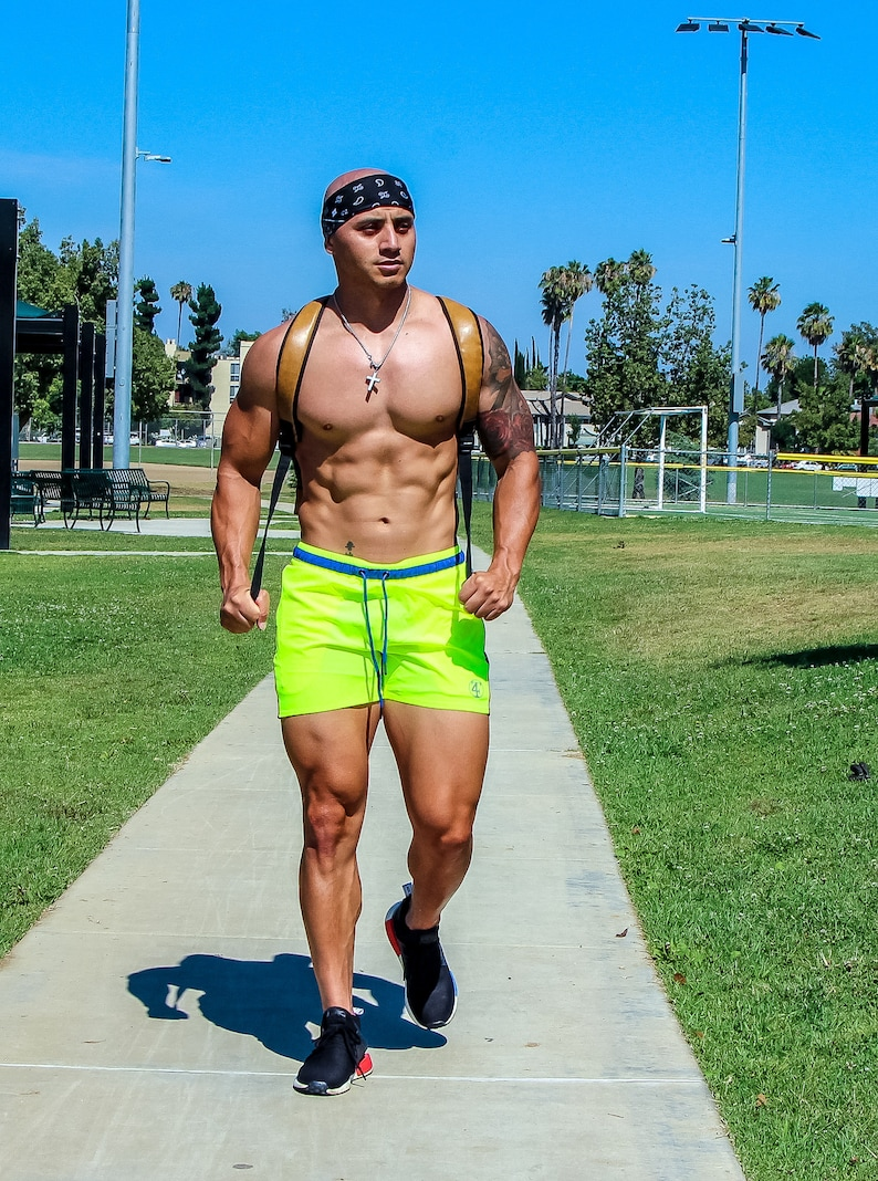 Electric summer shorts