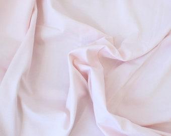 1/2 YD Powder Pink Organic Cotton Jersey Spandex - Perfect for sewing underwear