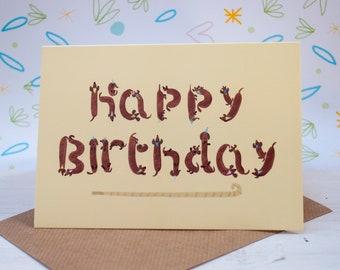 Dachshund birthday card, Sausage dog, Dachshund,Dog card, Funny Birthday card, Cute card, Gift for her, Card for girlfriend, Gift for him