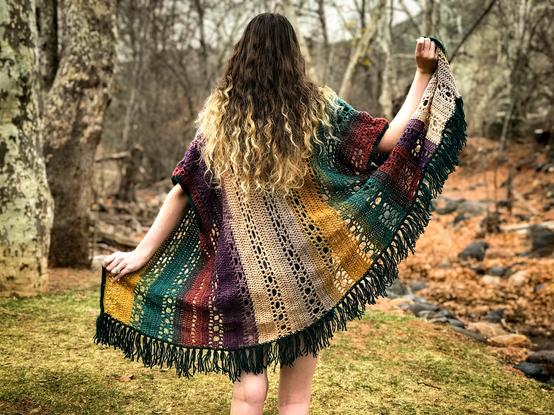 Crochet Kimono Pattern The Genesis Cardigan Instant Etsy