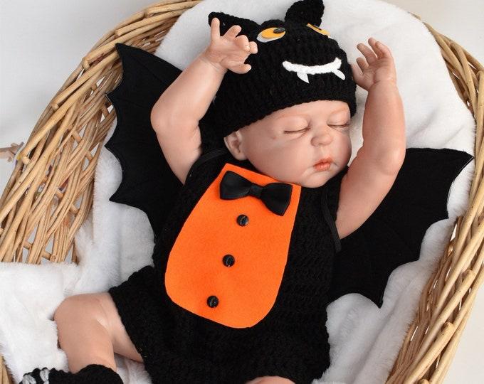 Baby Bat Halloween Costume, Baby Bat Costume Halloween, Newborn halloween Costume, Baby Halloween Costume Boy, Baby Boy Halloween Costume UK