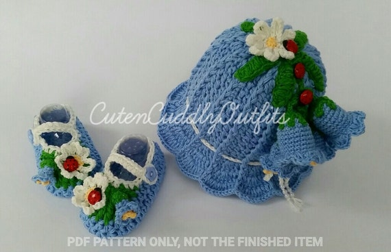 Crochet Patterns crochet hat patterns baby girl shoes | Etsy