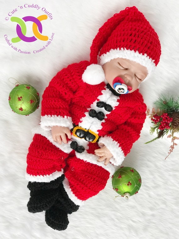 Christmas Outfit Baby Christmas Outfit Boy Christmas Outfit Etsy