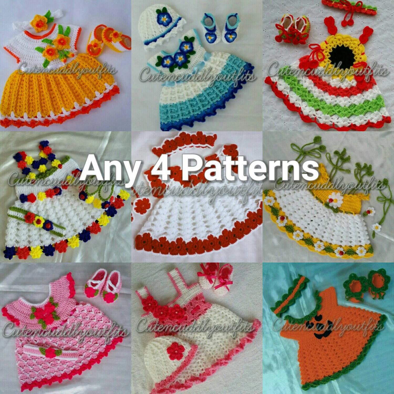 Crochet patrones Crochet patrones sistemas del bebé del | Etsy