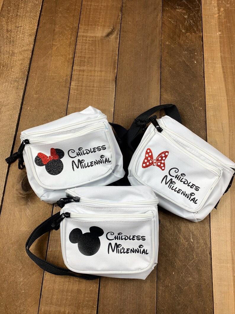 Disney Childless Millennialchildless millennial fanny packDisney Fanny Packspersonalized Disney fanny packs
