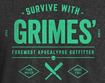 Walking Dead Shirt, Walker Shirt, Walking Dead, Walkers, TWD Shirt, TWD, The Walking Dead, Grimes Outfitter Shirt, Rick Grimes Shirt, Grimes