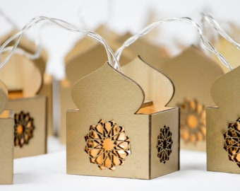 Islamic Muslim Holiday Decoration Golden Pack Eid Party Packs