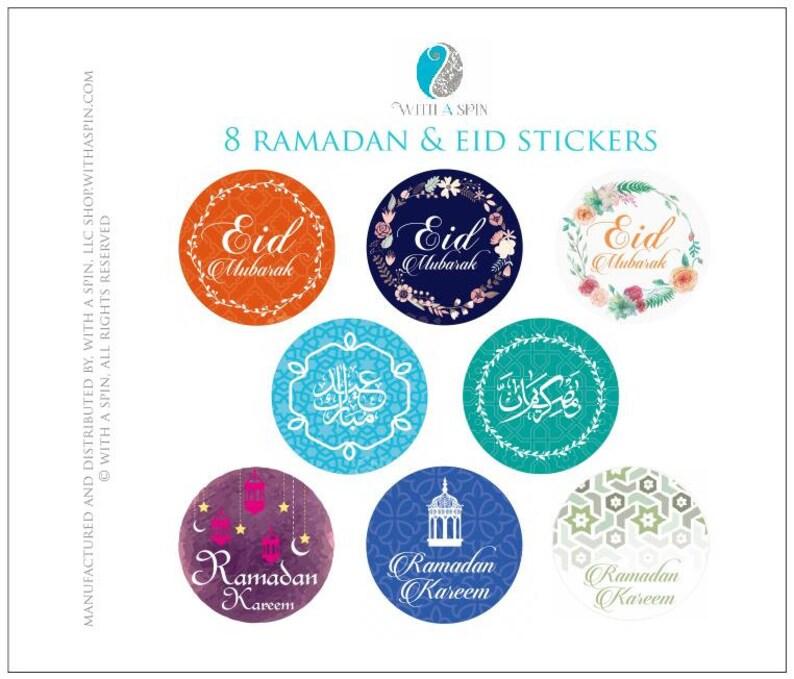 Islamic Stickers. Muslim Stickers. Eid Stickers. Eid gift image 0
