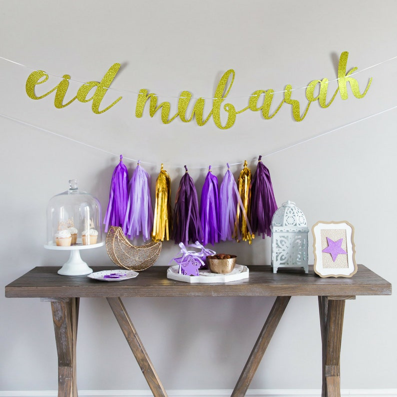 Image result for Garland and Signs eid