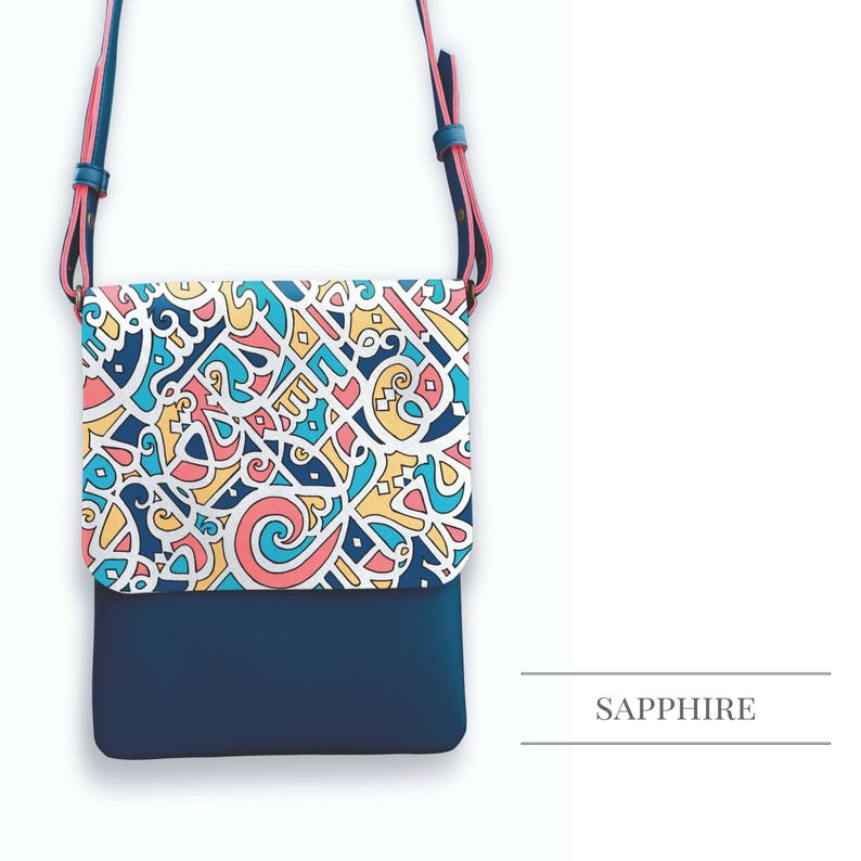 Calligraffiti Cross Body Bag image 0