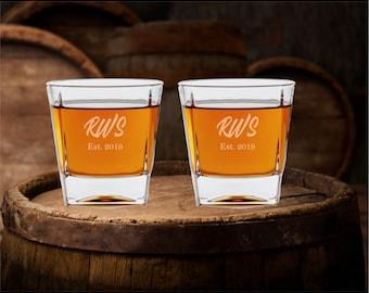 Engraved Rocks Glass, Personalized Whiskey Glass, Decanter Glass, Whiskey Glass, Rocks Glass, Whiskey Glasses, Bourbon Glasses, Scotch Glass