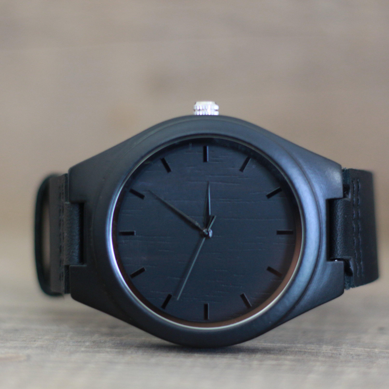 7f01e327f89ea Wood Watch 1st Anniversary Gifts for Husband Mens Wood