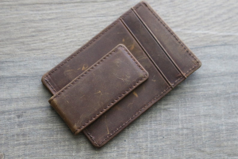 Mens Wallet Gift Personalized Leather Wallet Minimalist Wallet Monogrammed Wallet Leather Slim Wallet For Dad Dad Wallet Gifts