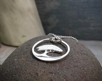 adjustable bracelet tree personalized bracelet monogram Bonsai tree cord bracelet initial bracelet bonsai tree charm bracelet