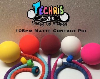 T.O.S. Supreme 105mm Matte Contact Poi