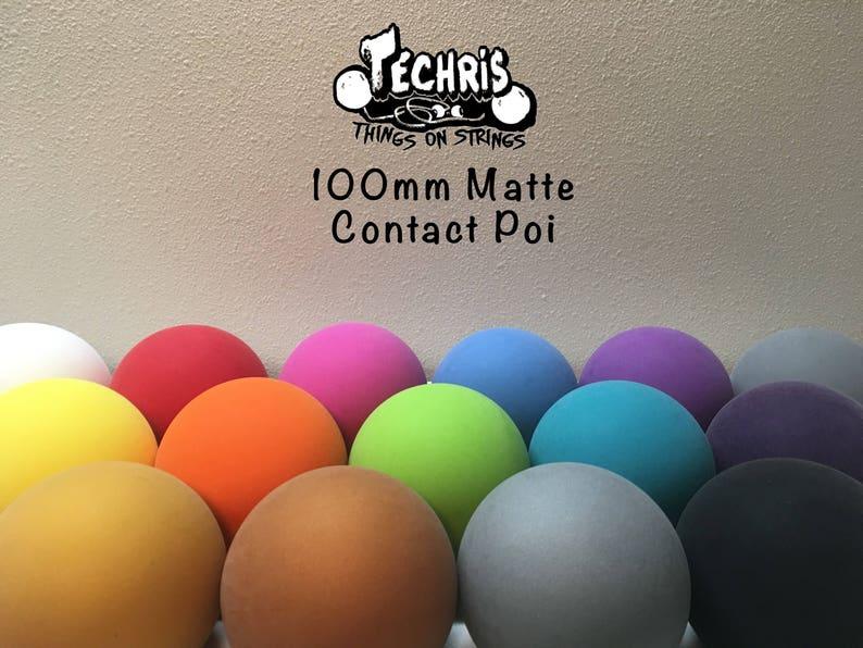 T.O.S Premium Matte 100mm Contact Poi