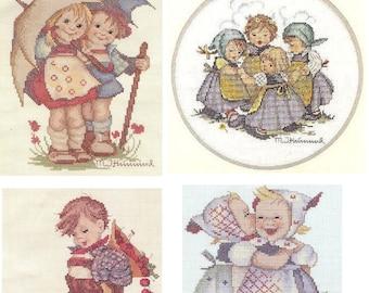 Hummel Cross Stitch Kits JCA Needle Treasures Goebel licensed U-CHOOSE 2607 2608 2609 2610