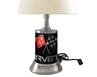 Corvette Lamp with shade