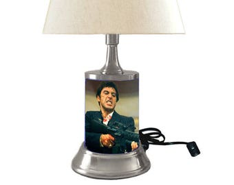 Scarface Lamp with shade