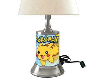 Pikachu Lamp with shade