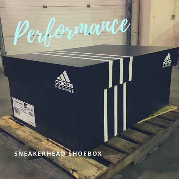 large adidas shoe box