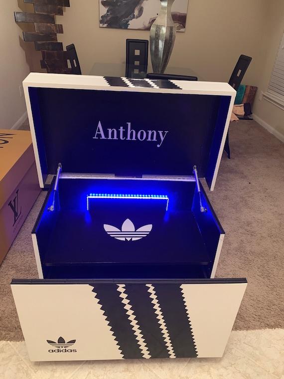 adidas shoe box storage