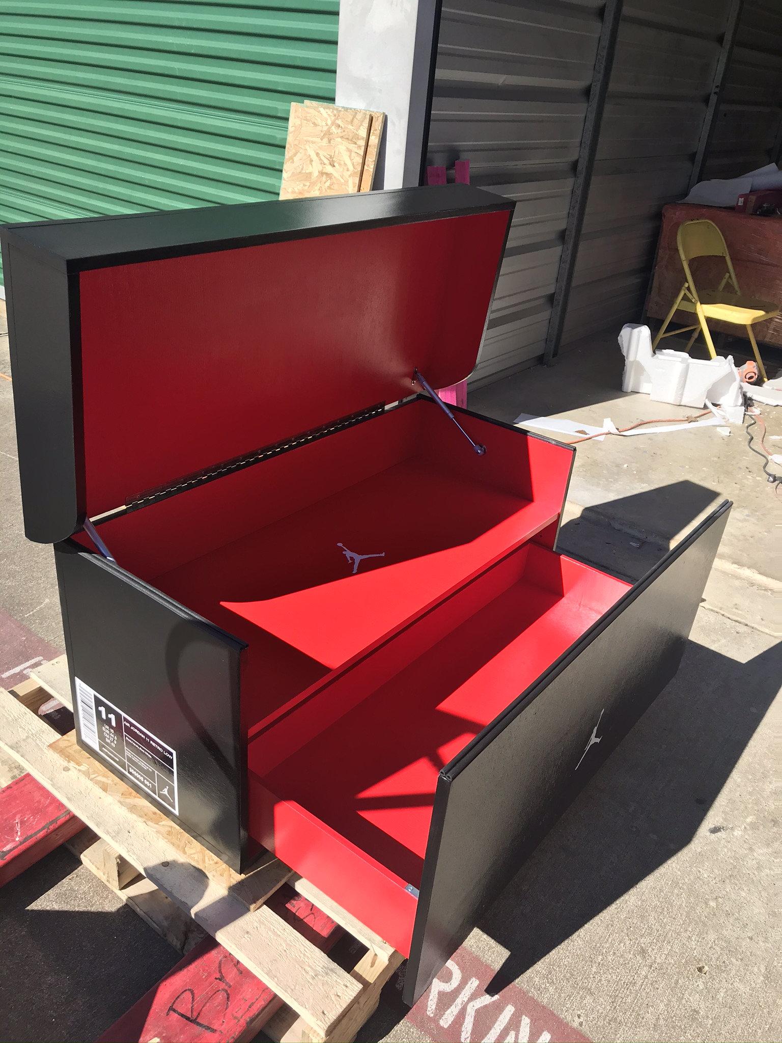 Giant Shoebox Storage, Giant Shoebox, Big Shoe Box, Shoe Organizer, Giant Shoe Box, Shoe Storage (FREE SHIPPING)