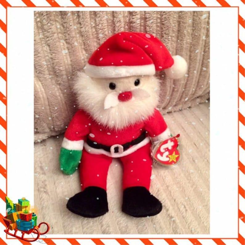 bee87a5096e Santa Beanie Baby ty Christmas Beanie Baby 1998 FREE