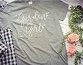 Garden Girl tee